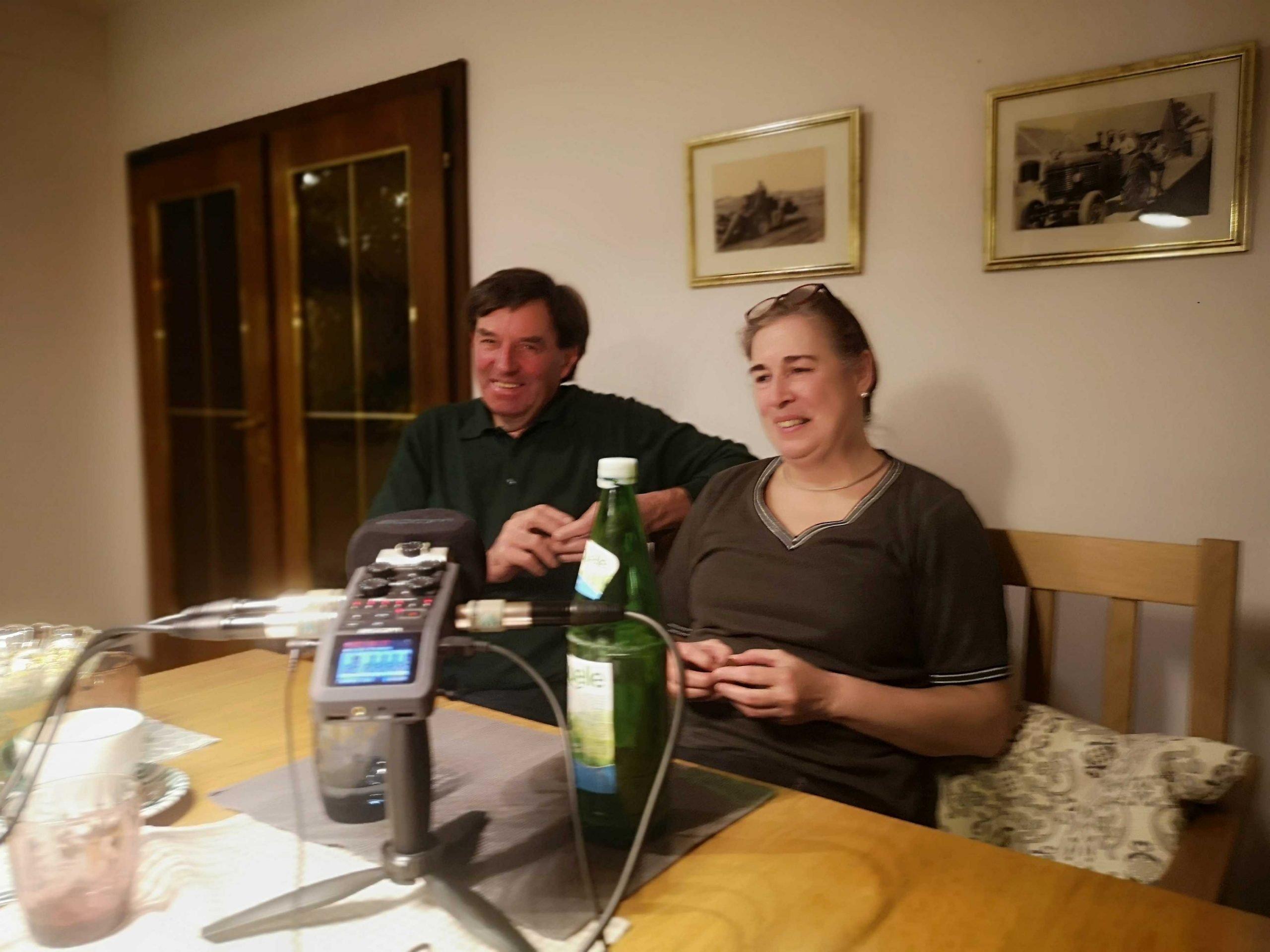 Josef und Veronika Eichinger im Gespräch mit BauertothePeople