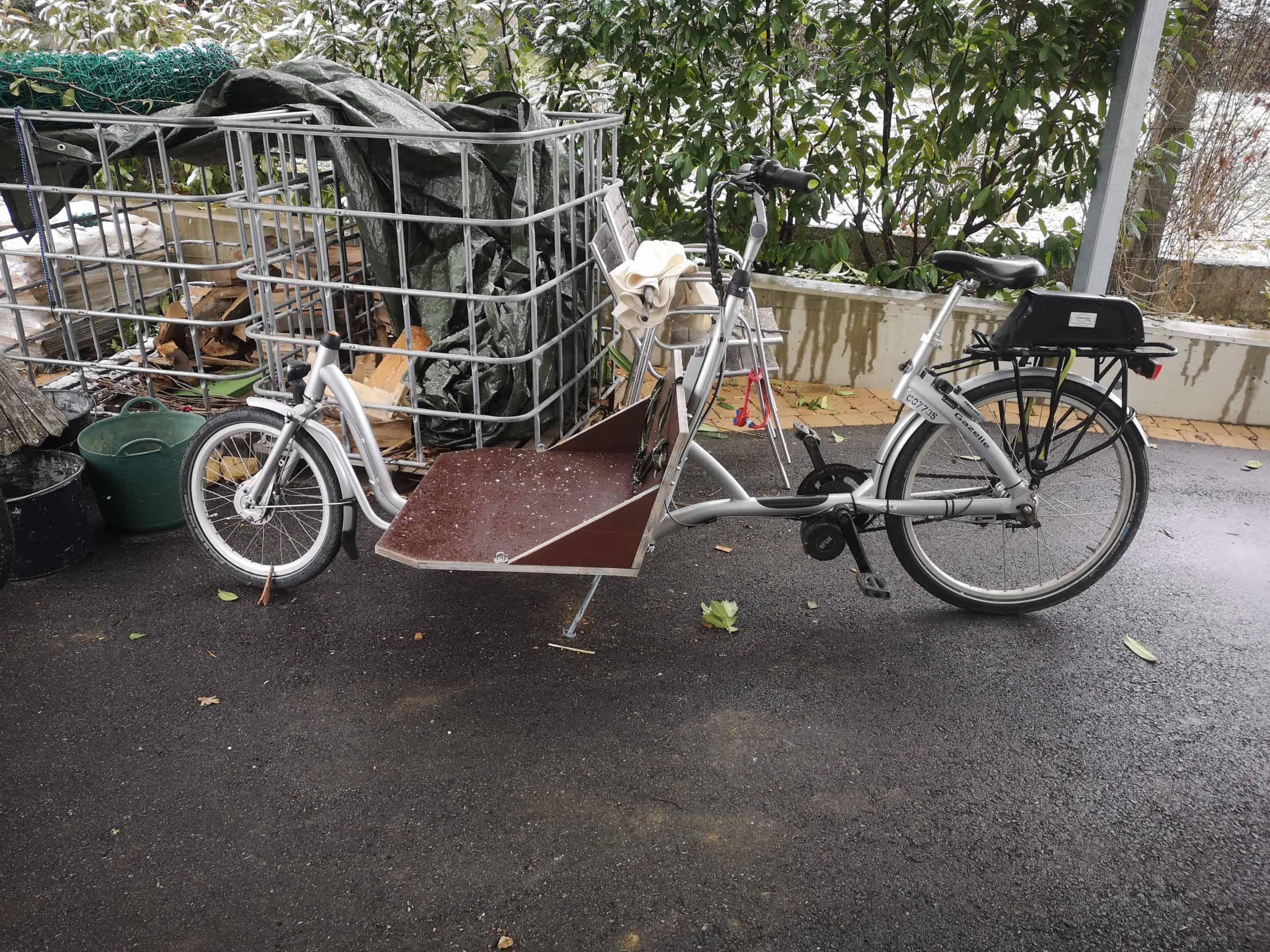 Das erste Lastenrad der Gredlbauern - war rasch zu klein
