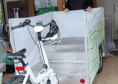 Das Lastenrad vom Gredlbauer mit 350 kg Zuladegewicht