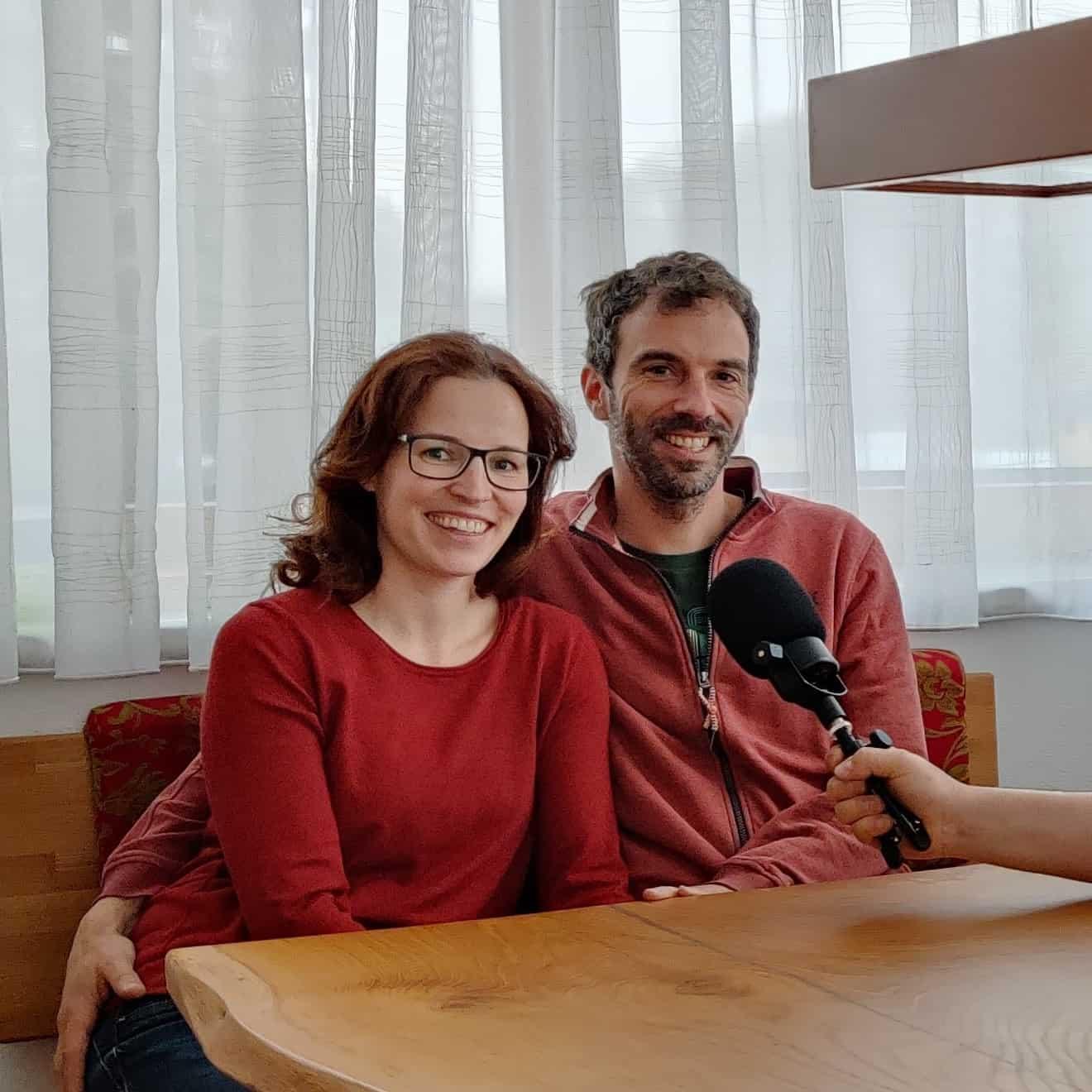 Stefanie und Ferdinand Köberl vom Gredlbauer
