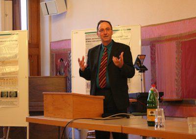 Eröffnung einer Konferenz Über «Food Quality and Health» vor 10 Jahren mit Urs Niggli