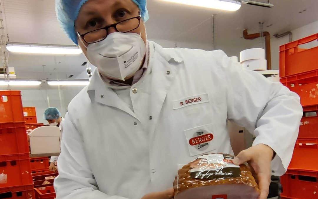 B2P028 Familie Berger | Bergerschinken – Fleischverarbeitung vom Schwein bis zum Schinken