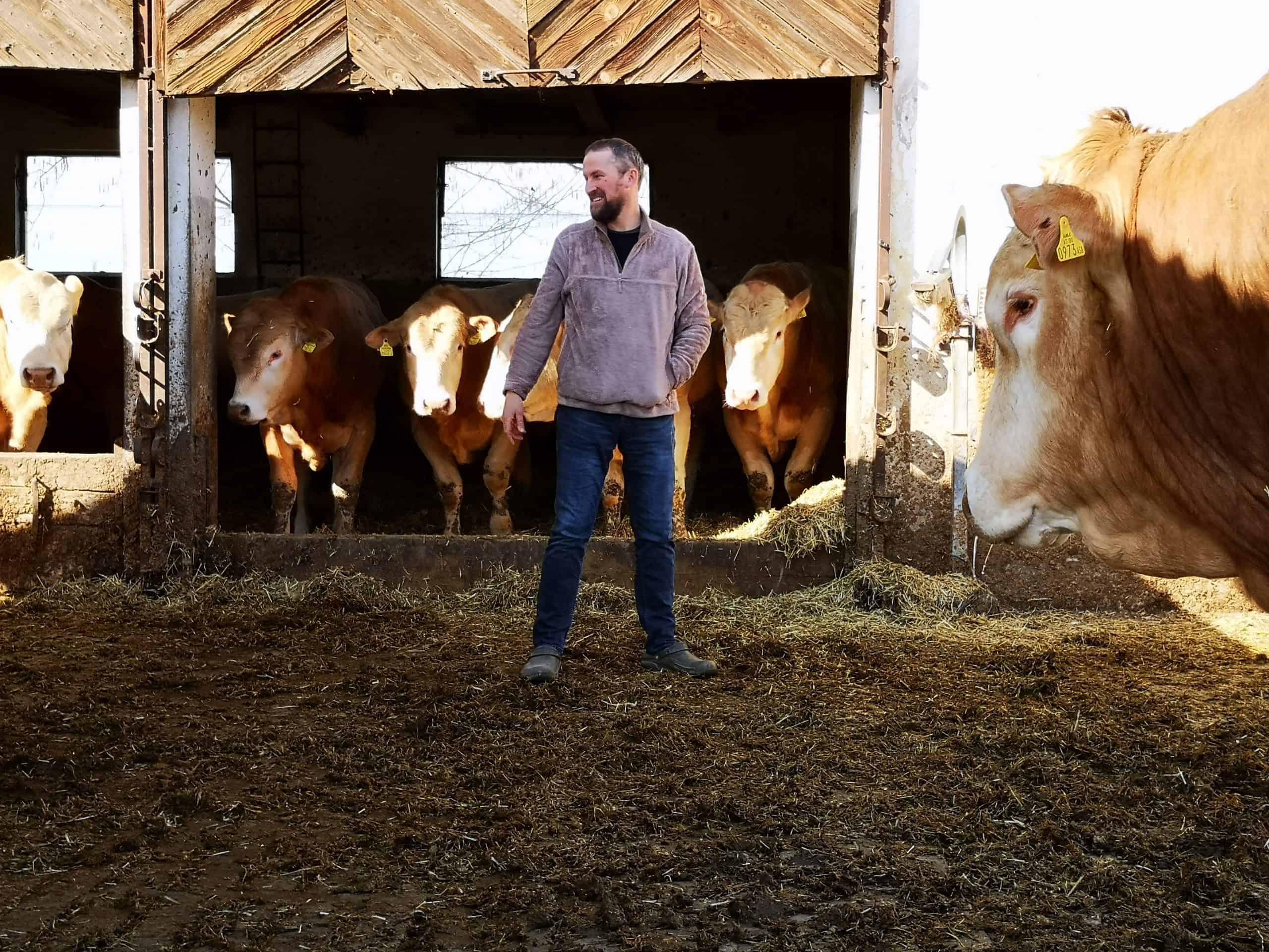 Foto - B2P029 Georg Doppler - Von blonden Rindern, Direktvermarktung und Sozialen Medien