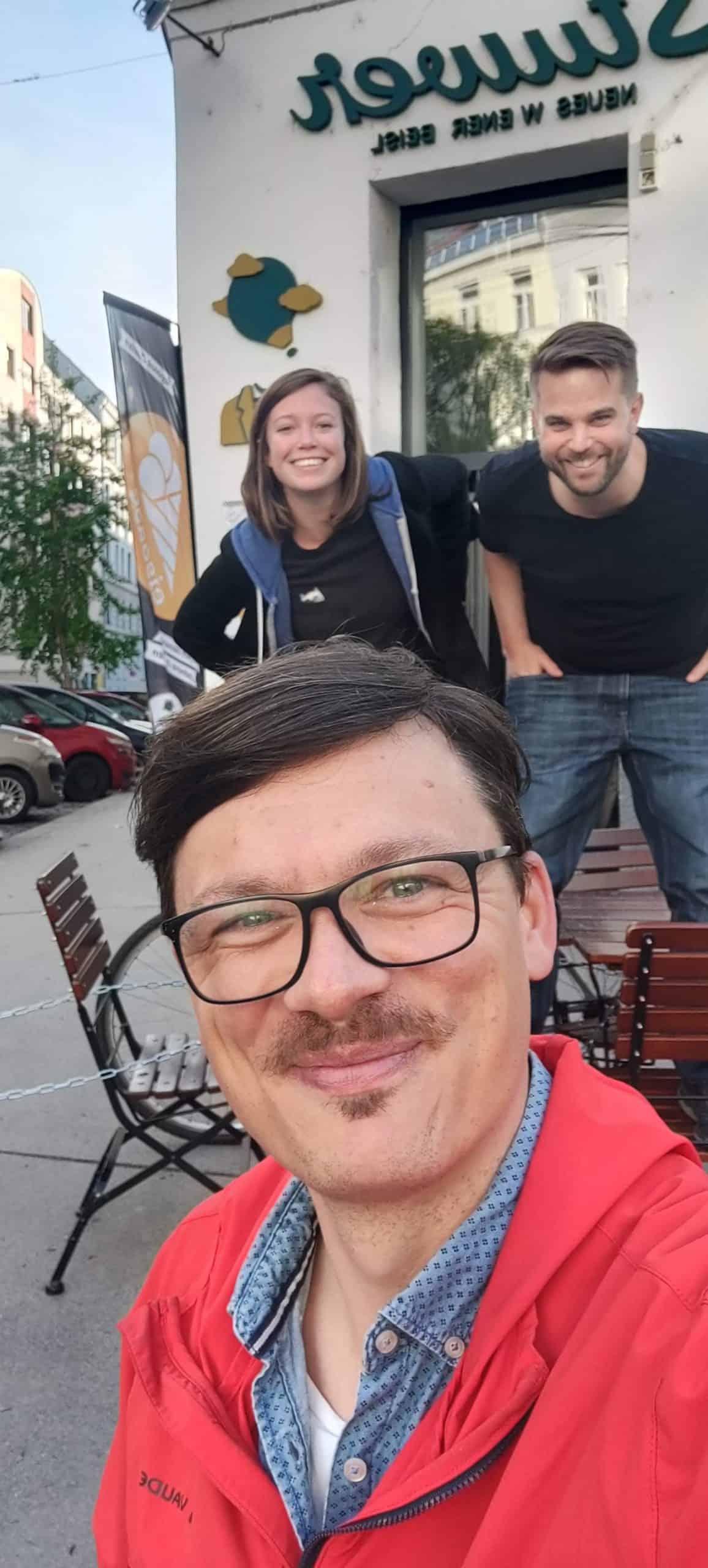 Selfie - Roland, Bianca, Willy