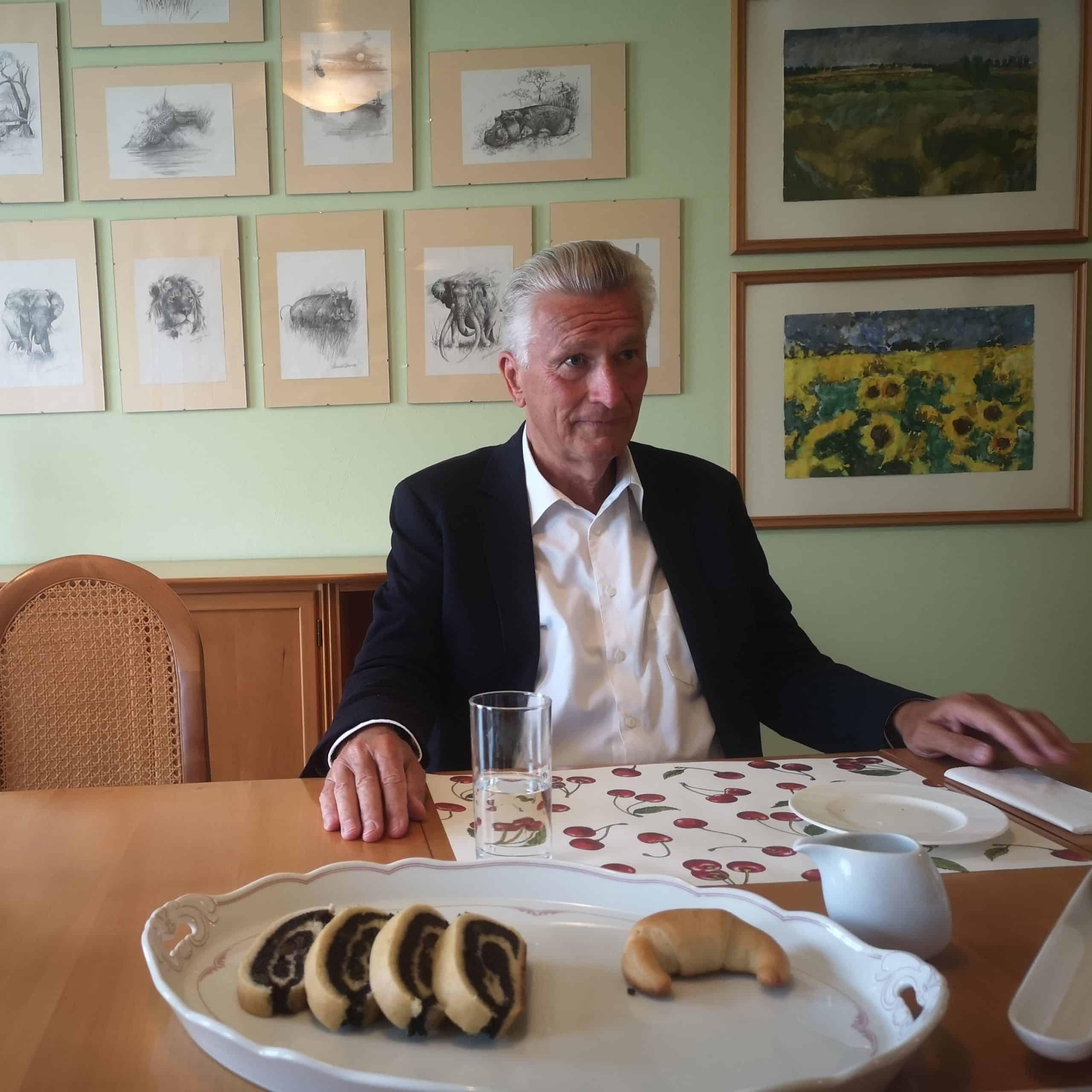 Rodolf Winkelmayer im Gespräch
